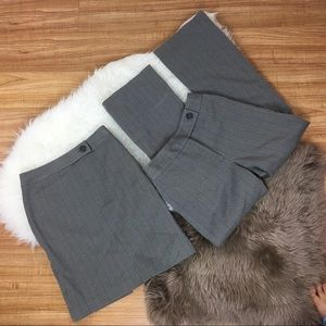 Other - Skirt and pants grey set size 2 petite